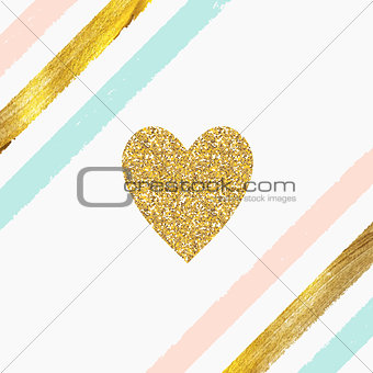 Paint Glittering Textured Art Pattern Background. Vector Illustr