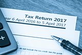 Tax return form 2017
