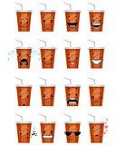 Sixteen glasses emojis