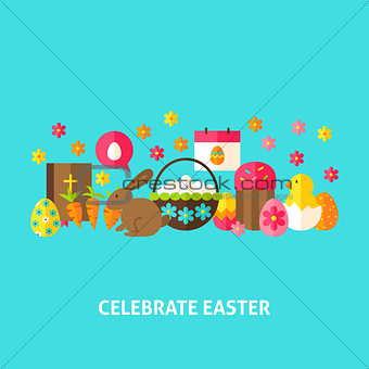 Celebrate Easter Greeting Card