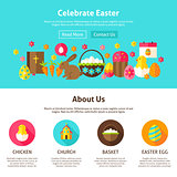 Celebrate Easter Web Design