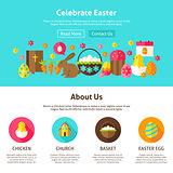 Celebrate Easter Web Design