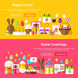 Easter Holiday Website Banners