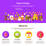 Easter Sunday Website Design
