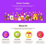 Easter Sunday Website Design