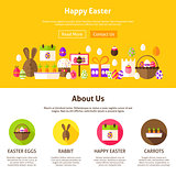 Happy Easter Web Design