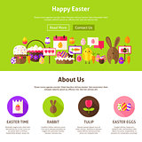 Happy Easter Website Design