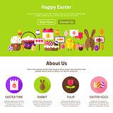 Happy Easter Website Design