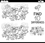 farm animals difference game