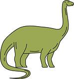 Brontosaurus Mono Line
