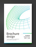 Abstract brochure template