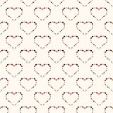 Heart abstract background seamless pattern.
