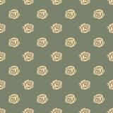Seamless pattern Bud roses.