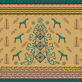 Tree moose natural ethnic background