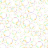 Colorful Foam Bubbles Seamless Pattern