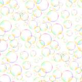 Colorful Foam Bubbles Seamless Pattern