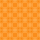 Orange Decorative Retro Seamless Pattern