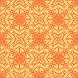 Decorative Retro Seamless Orange Pattern
