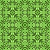Decorative Retro Seamless Green Pattern