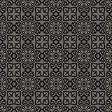 Decorative Retro Seamless Grey Pattern