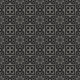 Decorative Retro Seamless Grey Pattern
