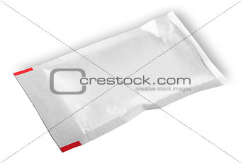 Clear white packet