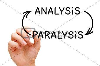 Analysis Paralysis Arrows Concept