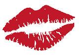 vector lip kisses