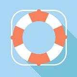 Lifebuoy vector icon