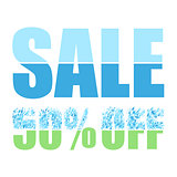 Sale multicolor background
