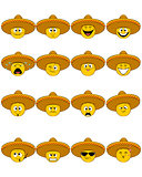 Faces in sombrero