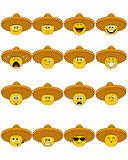 Faces in sombrero