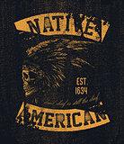 Native american illustration