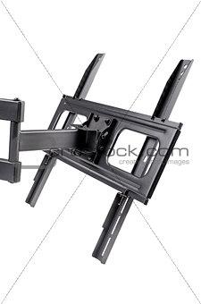 Black TV bracket