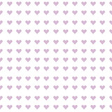 Mauve hearts seamless background