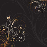Decorative floral background 0612