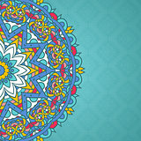 Decorative mandala styled background