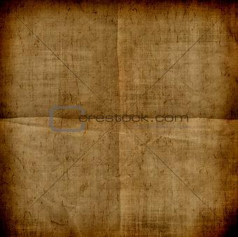 Grunge folded paper background