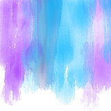 Watercolour paint strokes background