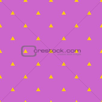 Tile vector triangle pattern
