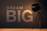 Dream big, business concept