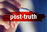 Post-truth concept