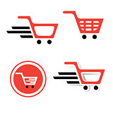 Shopping Basket Sign Set