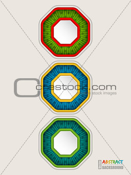 Abstract colorful traffic light concept background