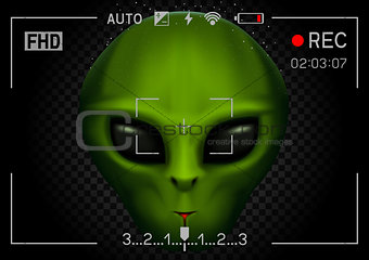 camera rec alien in dark