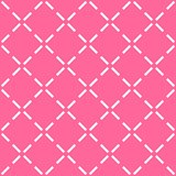 Tile pink and white vector pattern