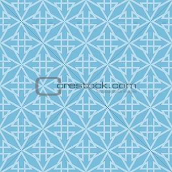 Tile vector pattern or blue background