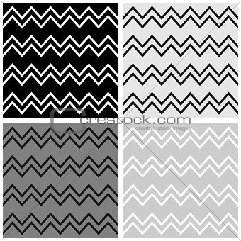 Tile vector pattern with chevron background