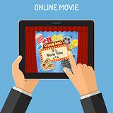 online movie concept