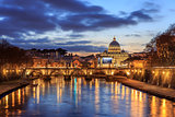 Twilight in Rome